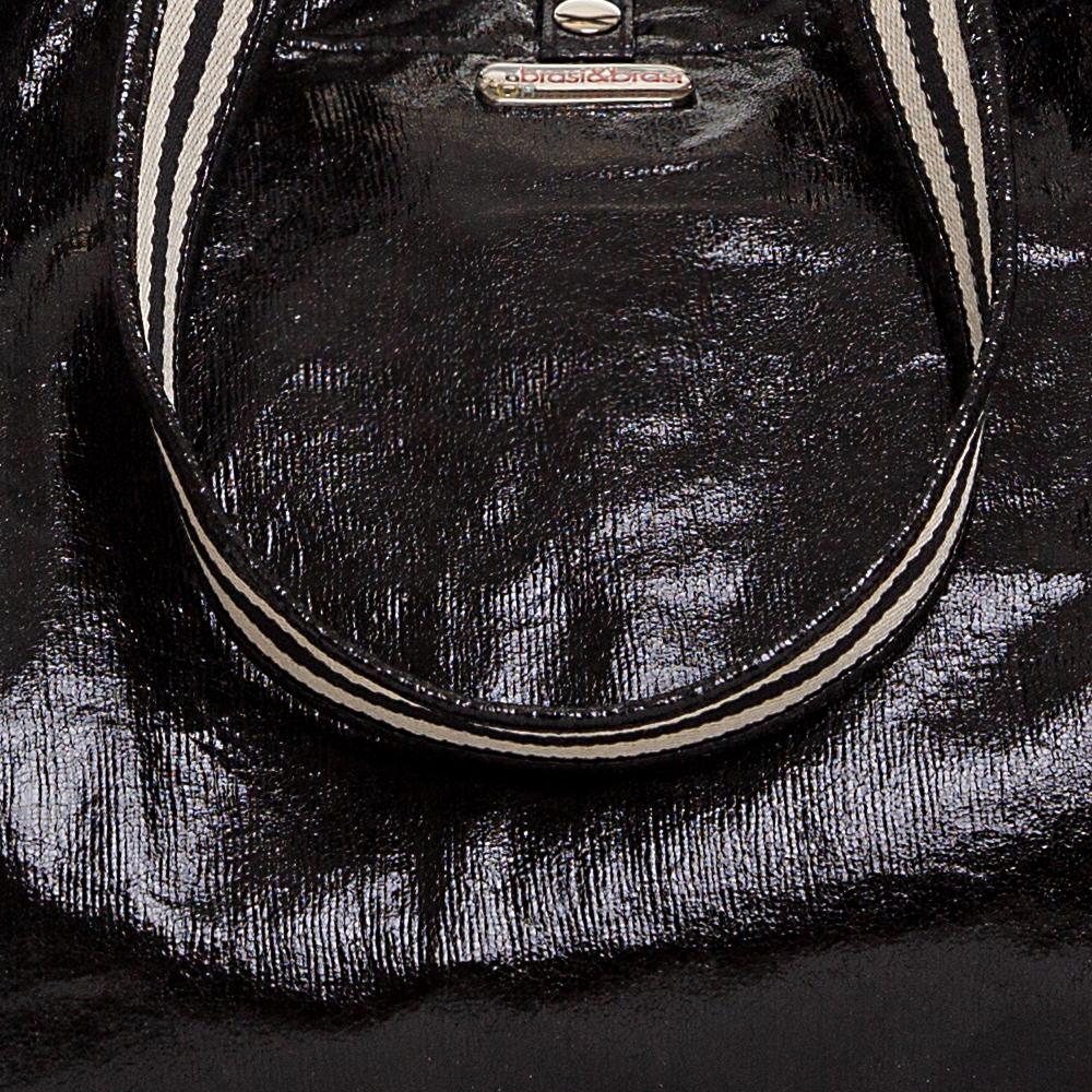 travel&stripe glitter SMALL schwarz